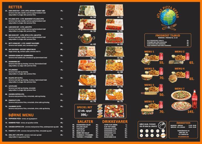 menu kort 1