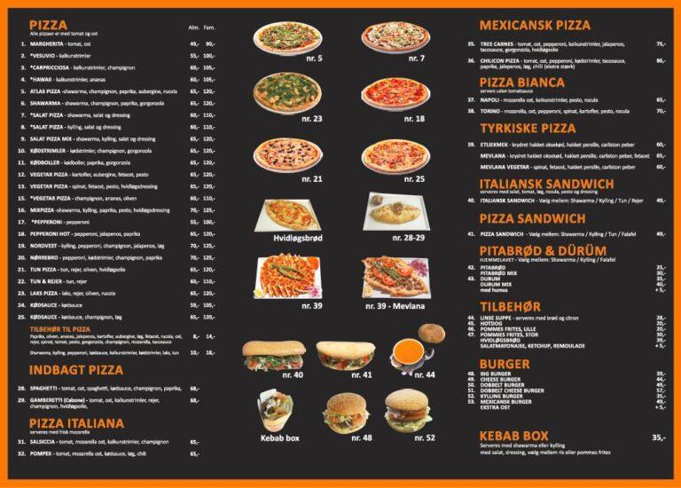 menu kort 2